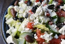 Recipe for Greek Salad - A super simple recipe for the classic Greek salad — fresh, robust and zesty!
