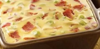 Recipe for Creamy Pepperoni Dip - This is a yummy dip with pepperoni and cream cheese in it. You can use bread pieces, crackers, pretzels or just about anything to dip into it!