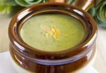 A delicious and hearty Broccoli Cheddar Soup. A soup recipe that is perfect for those cold fall days.