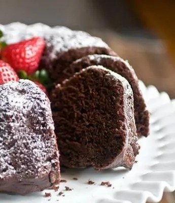 This Chocolate Yogurt Bundt Cake is the kind of cake that melts in your mouth and melts your heart. The kind of chocolatey goodness that will make all of your problems just...disappear.