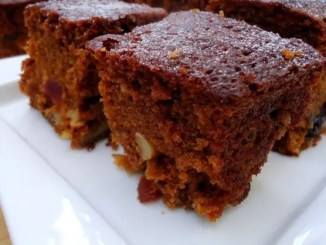 Recipe for Rich Plum Christmas Cake