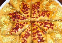 Cranberries and pistachios definitely give this Baklava Christmas Star it's traditional flavor. Perfect for any Christmas celebration.