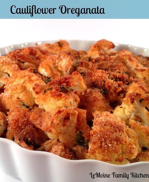 Baked Crunchy Cauliflower