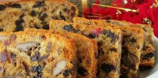 Recipe for Christmas Fruit Cake