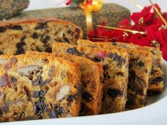 Recipe for Christmas Fruit Cake