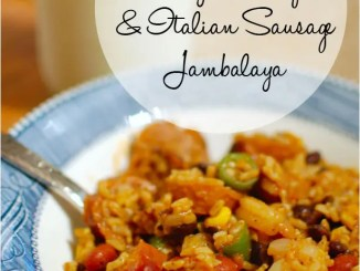 Recipe for Easy Shrimp and Italian Sausage Jambalaya