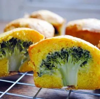 Savoury Broccoli Cakes