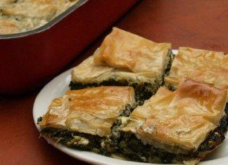 Recipe for Spanikopita - Greek Spinach Pie