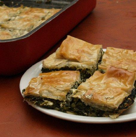 Spanikopita – Greek Spinach Pie