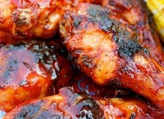 Recipe for Spicy Korean BBQ Chicken