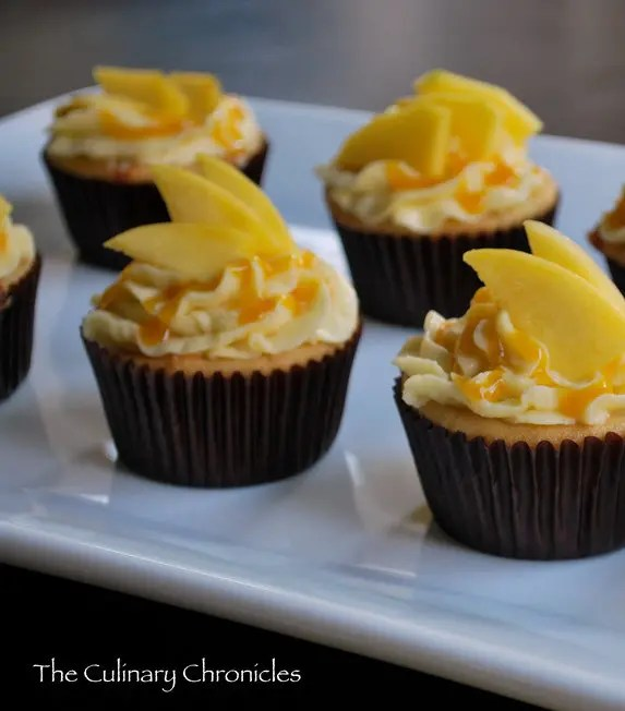 Recipe for Mango-licious Cupcakes