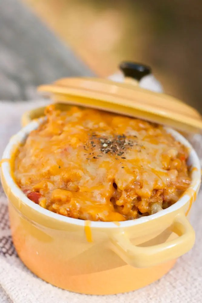 Cheesy Arroz con Pollo – Mexican Chicken and Rice