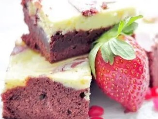 Recipe for Red Velvet Brownies
