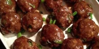 Recipe for Asian Style Meatballs