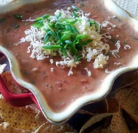 Recipe for Addictive Refried Bean and Cheese Dip