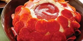 Recipe for Awesome Pepperoni Pizza Cheese Ball