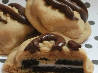 Recipe for Stuffed Peanut Butter Oreo Cookies