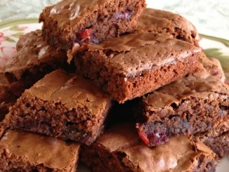 Recipe for Strawberry and Chocolate Brownies