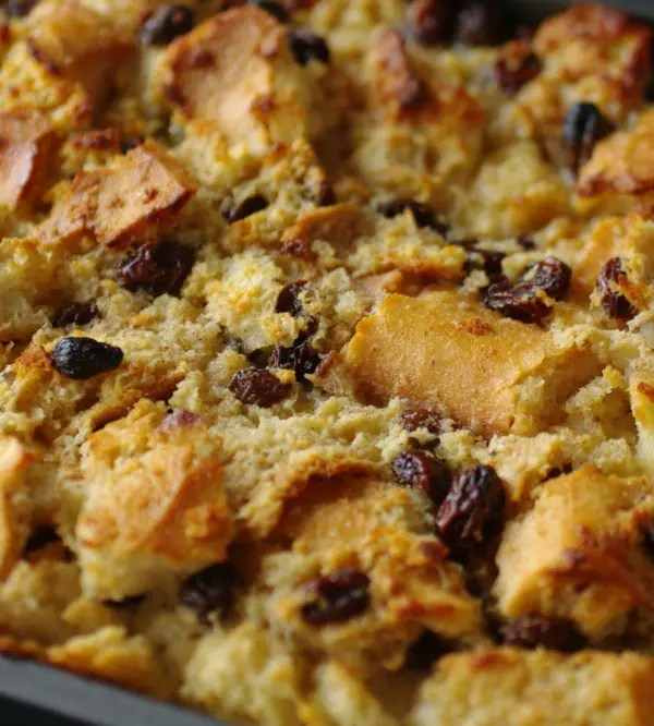 Cajun Bread Pudding with Whiskey Sauce