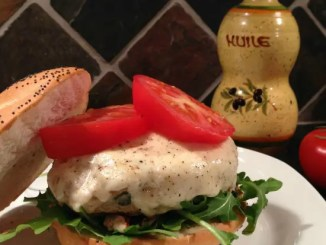 Recipe for Caprese Chicken Burgers