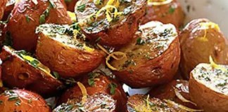 Roasted Potatoes with Bacon and Rosemary - This is a simple recipe for some of the most delicious potatoes that you will ever try.
