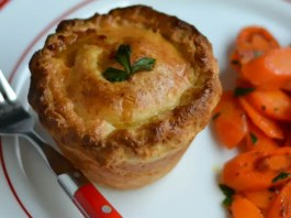 Tender and flavorful beef stew encased in a flaky Irish cheddar crust. Perfect for St. Paddy's day.