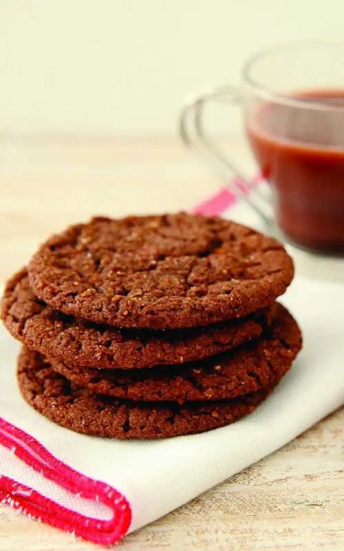 Mexican Hot Chocolate Snickerdoodle Crunch Cookies