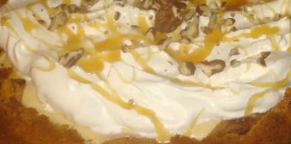 Recipe for Caramel Apple Cheesecake Pie