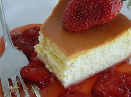 Recipe for Copycat Juniors New York Cheesecake