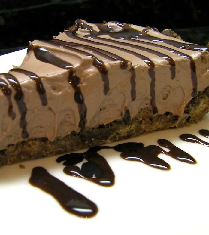 No Bake Chocolate Chocolate Cheesecake