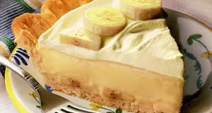 Recipe for Classic Banana Cream Pie