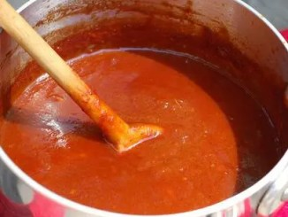 Recipe for Spicy Sweet Barbecue Sauce