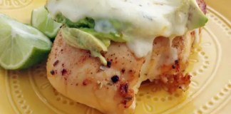Recipe for Southwestern Chicken Avocado Melt