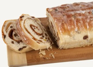 Recipe for Cinnamon Raisin Swirl Bread