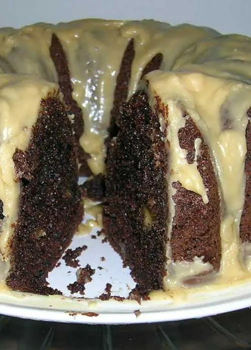 Recipe for Chocolate Chip Devils Food Cake - This is a chocolate lover's dream cake. If you have cravings for chocolate this will satisfy them all!