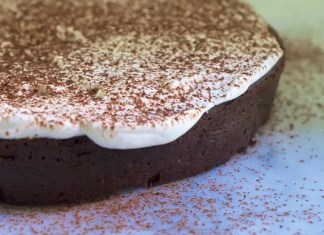 This Flourless Dove Dark Chocolate Lovers Cakerecipe is ideal for special occasions. Its fudgy, gooey,chocolate loversheaven in every bite.
