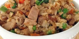 Recipe for Healthier Pork Fried Rice