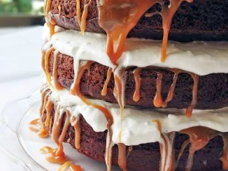 Recipe for Caramel Macchiato Cake