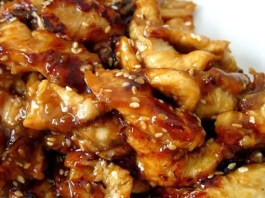 Recipe for Slow Cooker Teriyaki Chicken - Serve the chicken over rice, you don't want any of that delicious, sticky sauce going to waste. And because we are all trying to be healthier this time of year make sure to serve lots of fresh stir fried vegetables on the side.