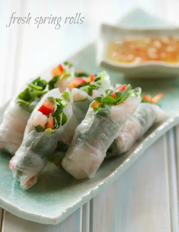 These Easy To Make Spring Rollsare even better than you'd find at a restaurant. And they are not just easy, they're incredibly healthy too!
