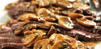 Trendy and tasty, this Flank Steak with Mushroom Sauce recipe is a simple and delicious way to prepare flank steak...and the flavorful sauce is absolutely divine!