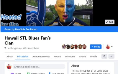 St. Louis Blues Facebook group contest goes to sudden death.