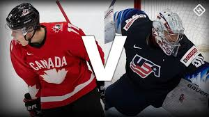 The Gold Medal Game we all wanted!!  (1) Canada vs (1) USA at the WJC