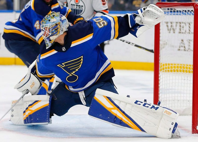 Binnington's success is Putting Army in a tough position
