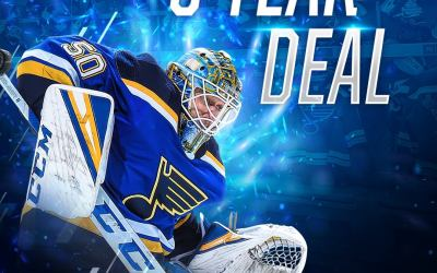 Binnington agrees to 6-year contract extension, As (K)nights loom.