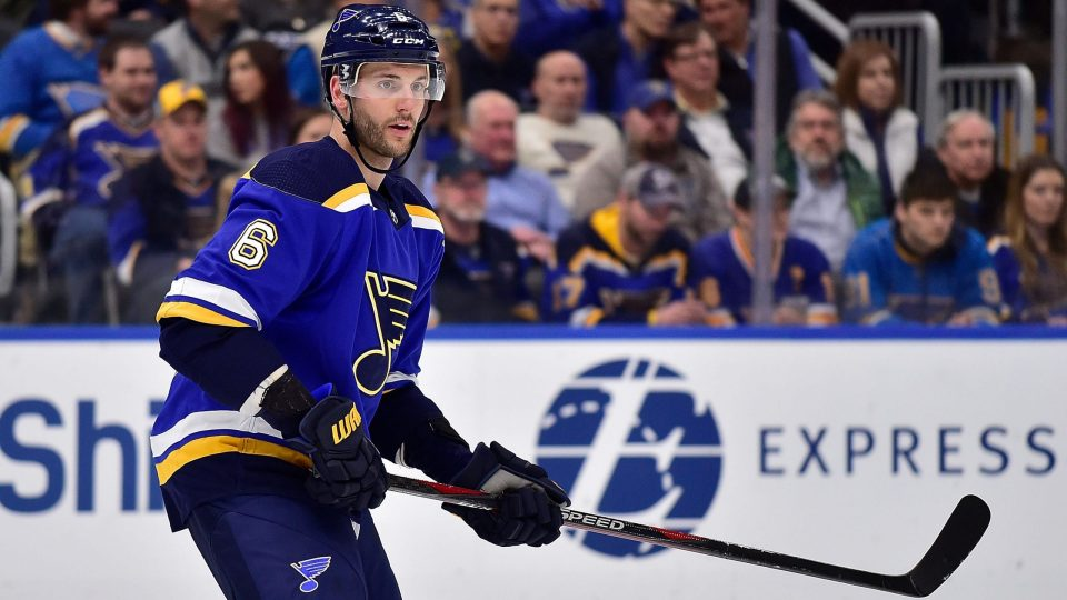 Marco Scandella, the St. Louis Blues big Defenseman with a bigger heart