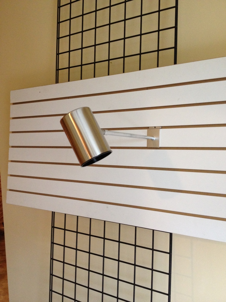 3 X 5 Gridwall Slatwall or Slotted Standard Display Light