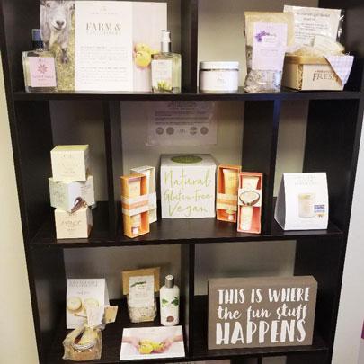 Farmhouse Products Shelf