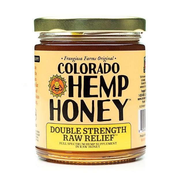 12 oz Double Strength Raw Relief 2000mg - Colorado Hemp Honey