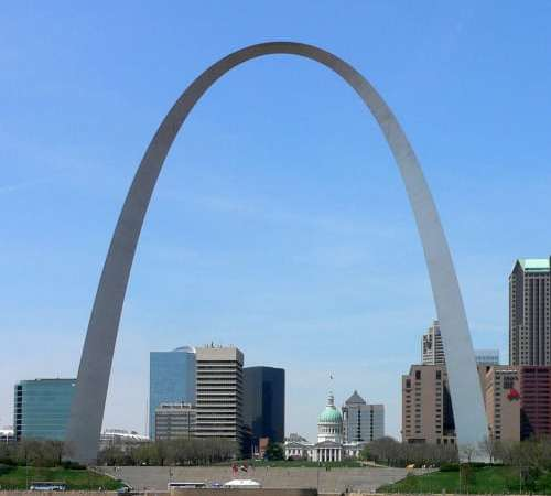 The Arch is Closed for Remodeling…well, the inside anyway.